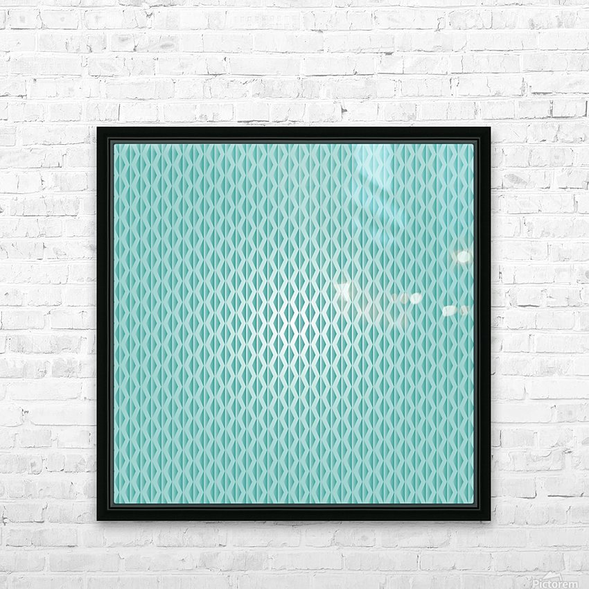 Green Diamond Art HD Sublimation Metal print with Decorating Float Frame (BOX)