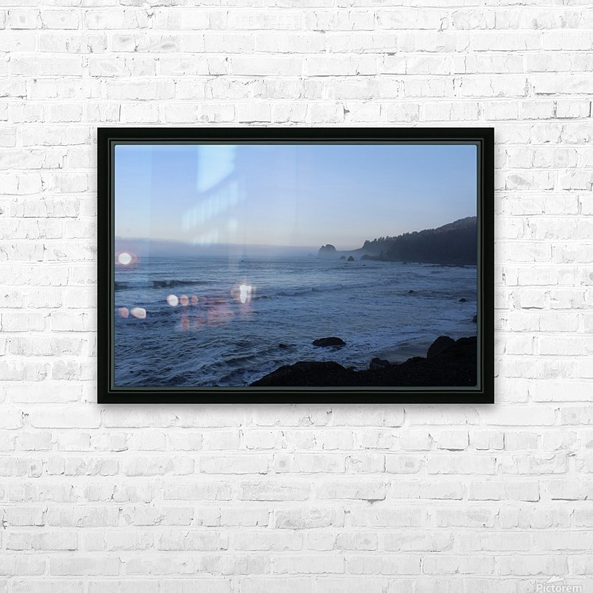 Rocky Point HD Sublimation Metal print with Decorating Float Frame (BOX)
