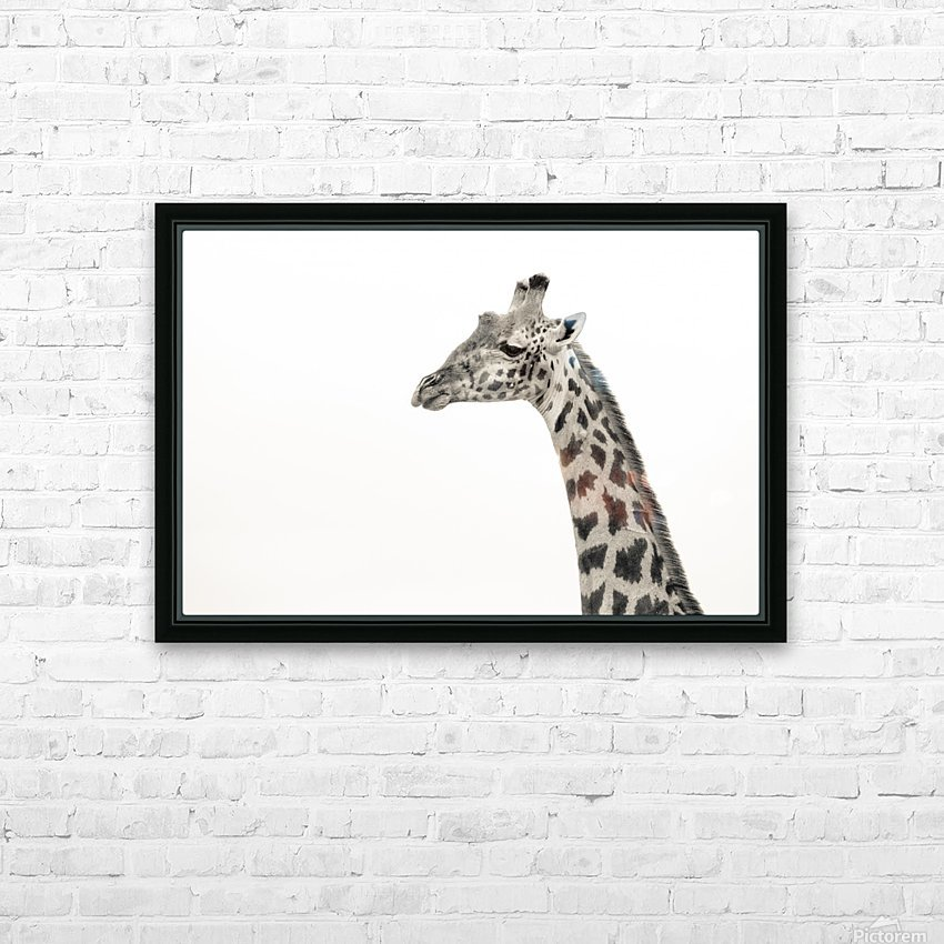 Stand Tall HD Sublimation Metal print with Decorating Float Frame (BOX)