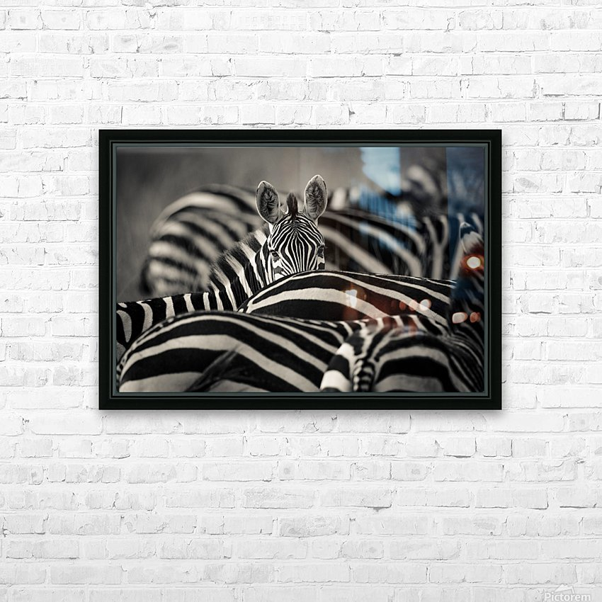 Between the Lines HD Sublimation Metal print with Decorating Float Frame (BOX)