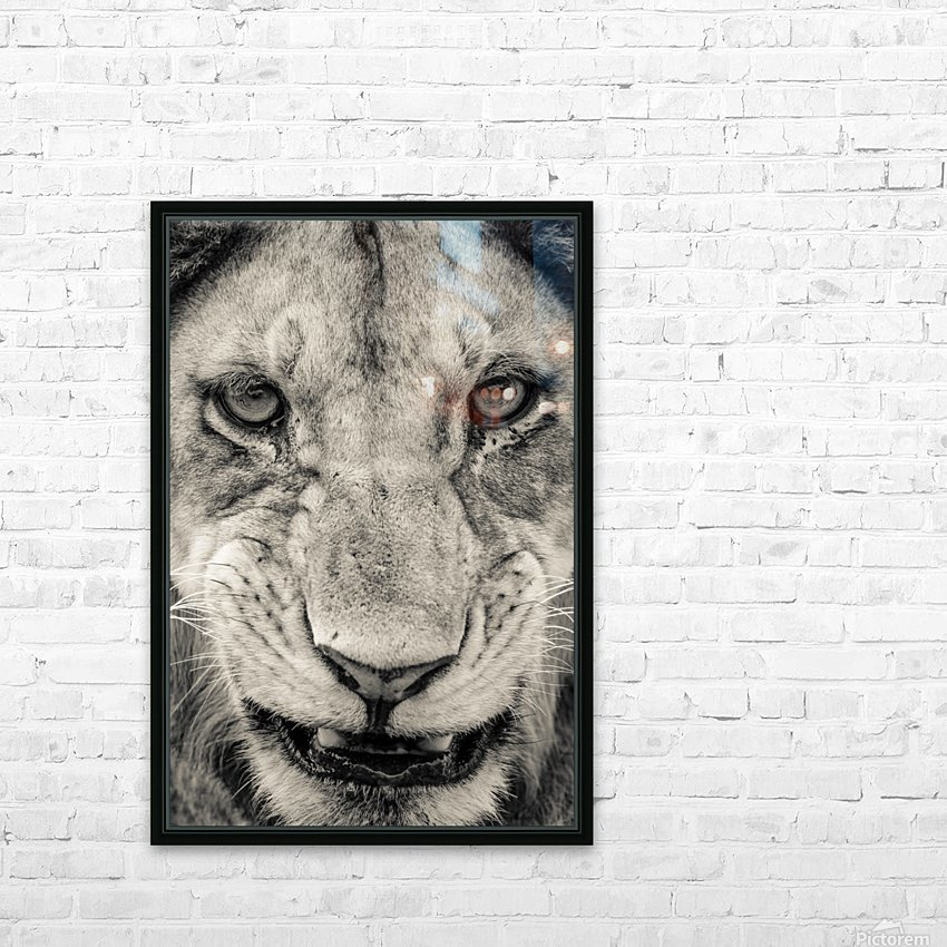 Grrrr HD Sublimation Metal print with Decorating Float Frame (BOX)