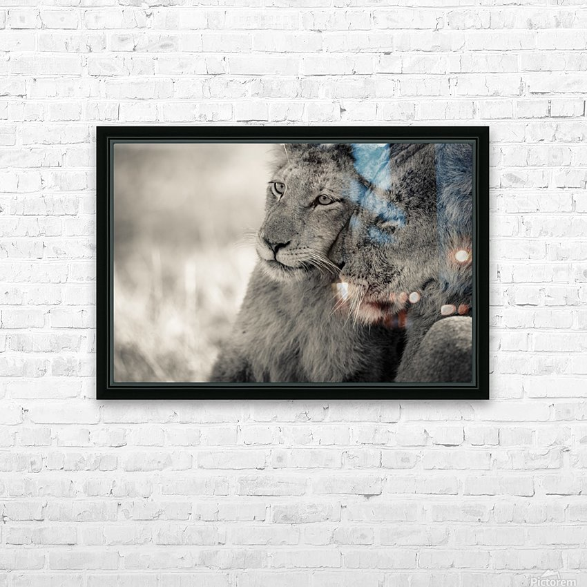 Tenderness HD Sublimation Metal print with Decorating Float Frame (BOX)