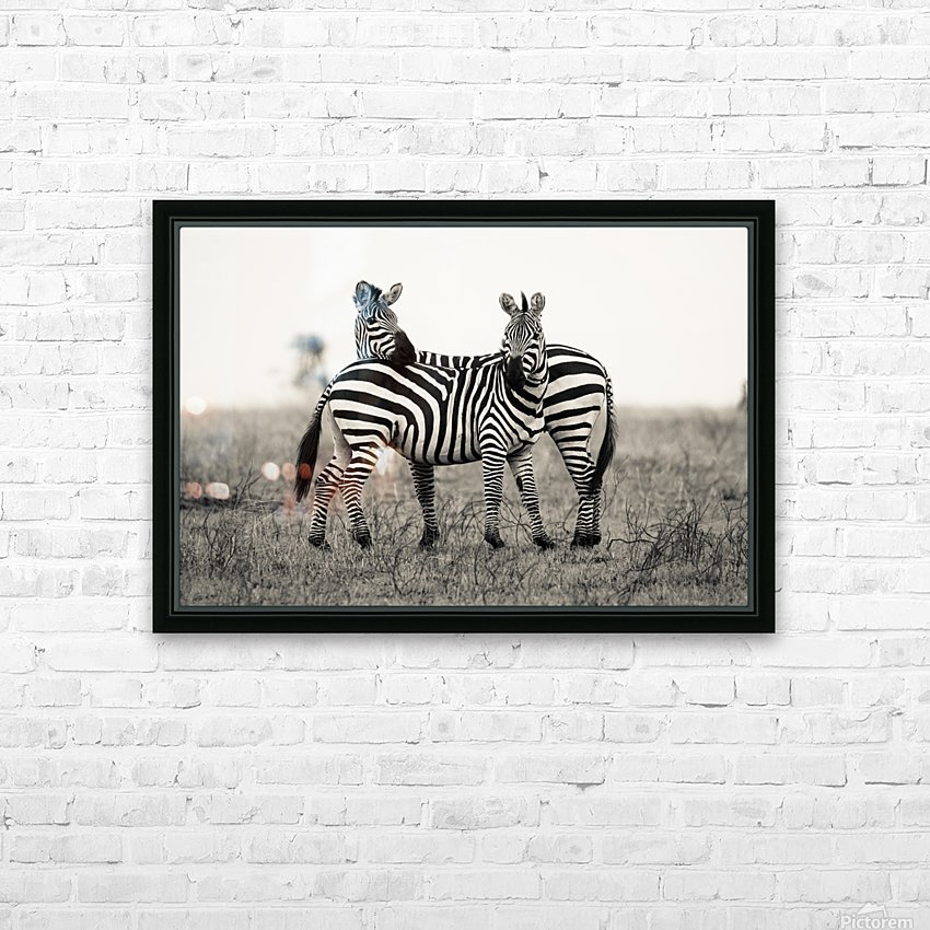 DUO HD Sublimation Metal print with Decorating Float Frame (BOX)