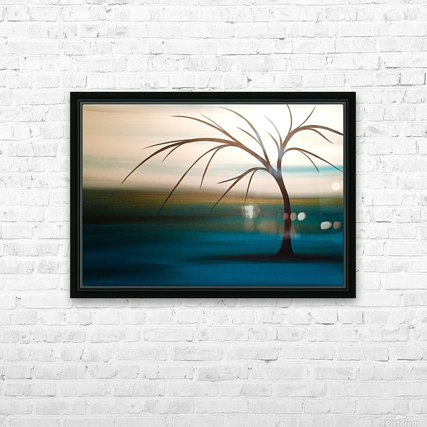 Day Dreaming HD Sublimation Metal print with Decorating Float Frame (BOX)