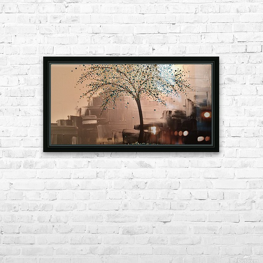 Tree of Treasures HD Sublimation Metal print with Decorating Float Frame (BOX)