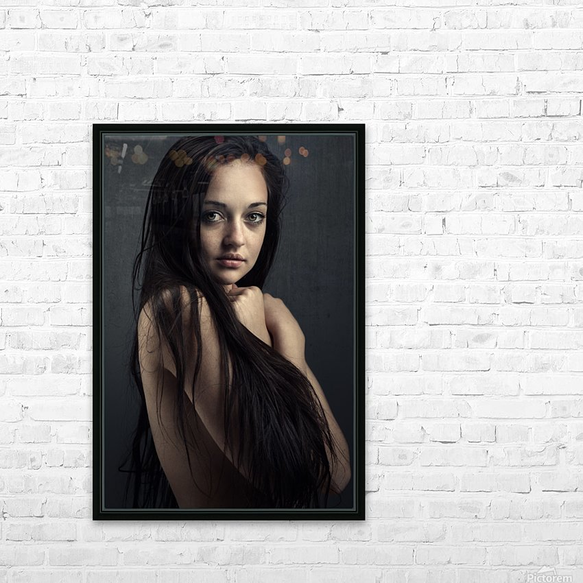 Innocent young woman HD Sublimation Metal print with Decorating Float Frame (BOX)