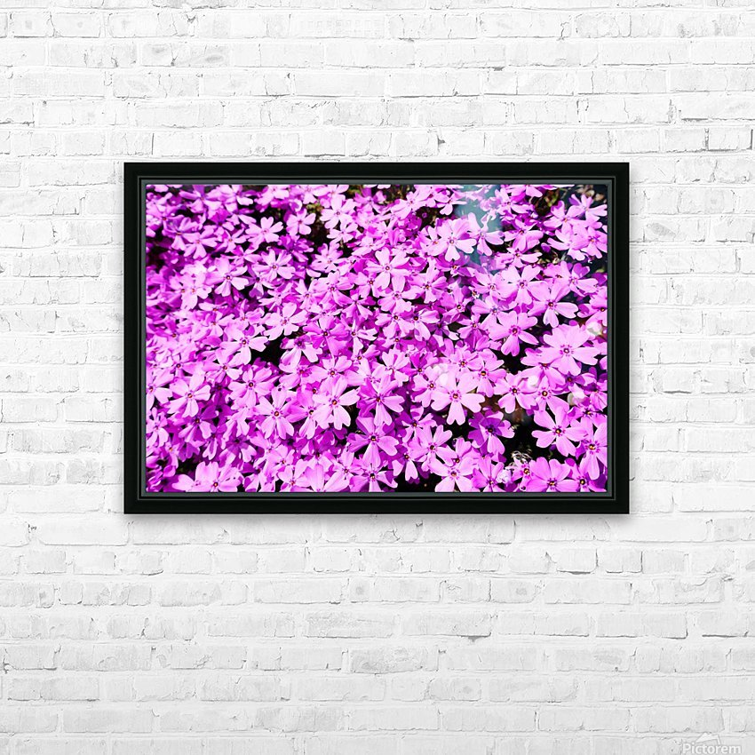 Pink Petals HD Sublimation Metal print with Decorating Float Frame (BOX)
