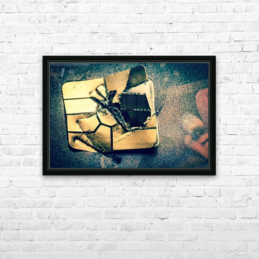 Abstract 029 HD Sublimation Metal print with Decorating Float Frame (BOX)