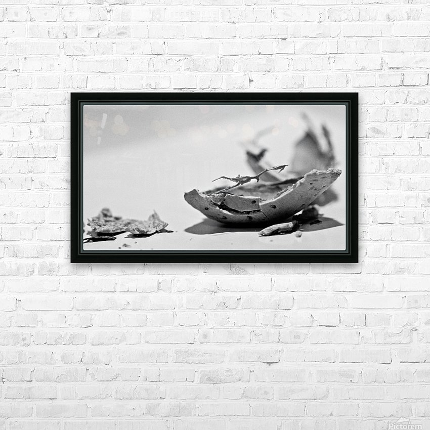 Humanity 046 HD Sublimation Metal print with Decorating Float Frame (BOX)
