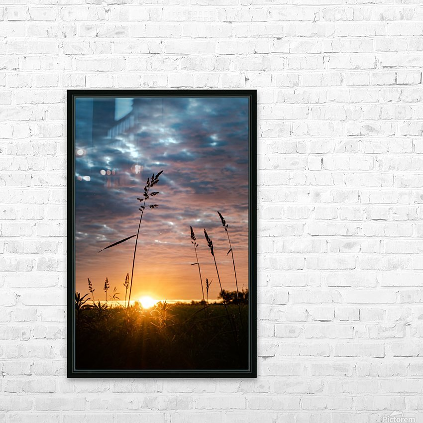 First Light HD Sublimation Metal print with Decorating Float Frame (BOX)
