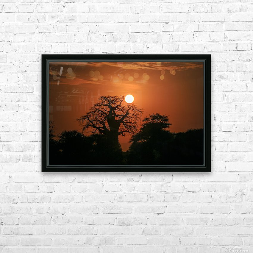 _49R8851 HD Sublimation Metal print with Decorating Float Frame (BOX)