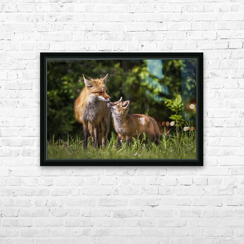 Motherly Love- 2 HD Sublimation Metal print with Decorating Float Frame (BOX)