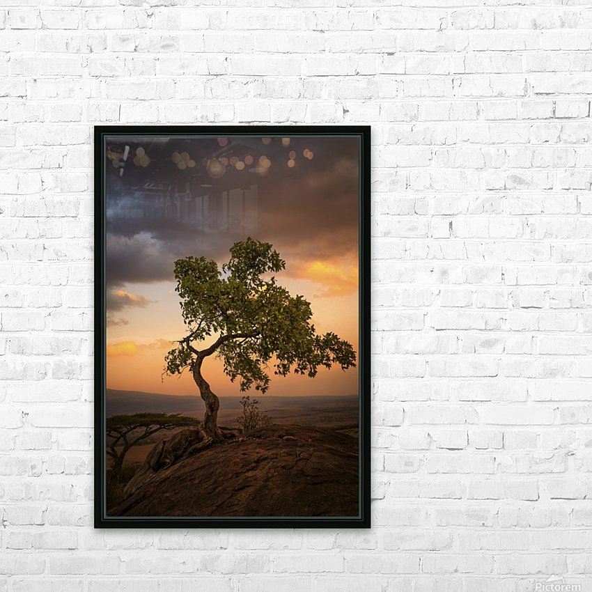 Tree of Life HD Sublimation Metal print with Decorating Float Frame (BOX)
