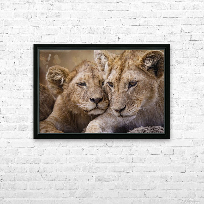 Brothers & Sisters HD Sublimation Metal print with Decorating Float Frame (BOX)