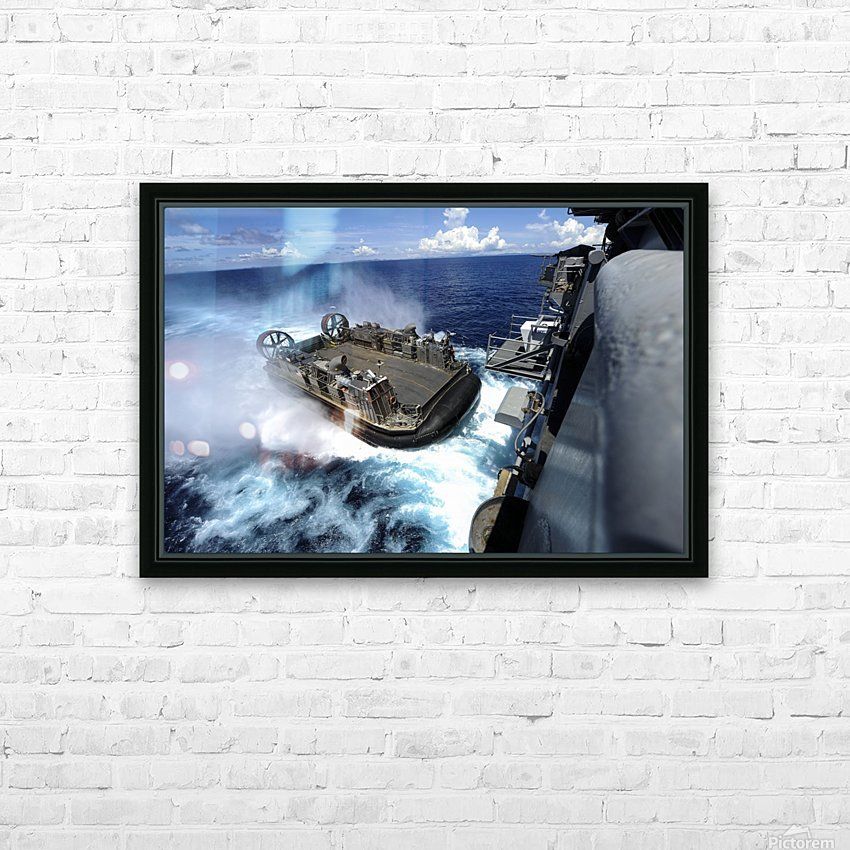 stk106309m HD Sublimation Metal print with Decorating Float Frame (BOX)