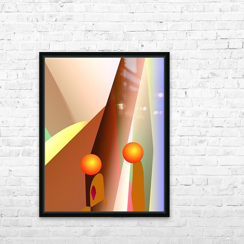 secret talk  82818 H HD Sublimation Metal print with Decorating Float Frame (BOX)