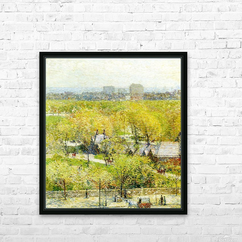 Woodland Pond HD Sublimation Metal print with Decorating Float Frame (BOX)