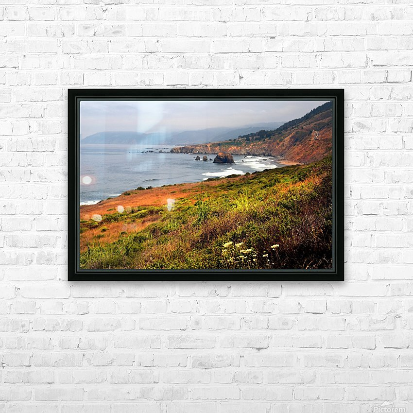 Coastal Views HD Sublimation Metal print with Decorating Float Frame (BOX)