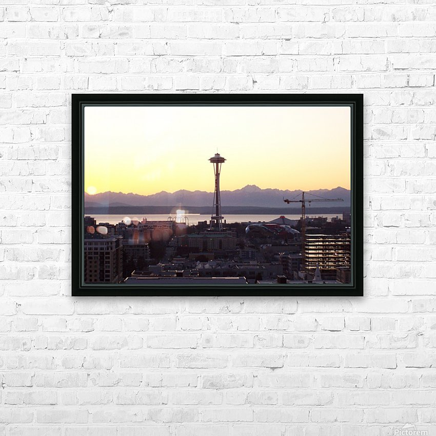 100_1064 HD Sublimation Metal print with Decorating Float Frame (BOX)