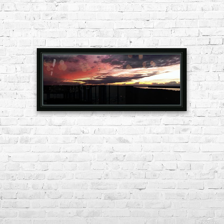 best sun HD Sublimation Metal print with Decorating Float Frame (BOX)