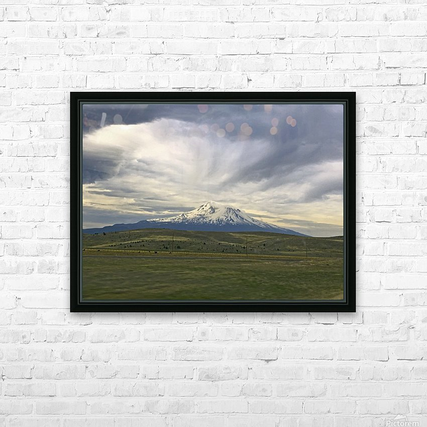 Shasta 1 HD Sublimation Metal print with Decorating Float Frame (BOX)