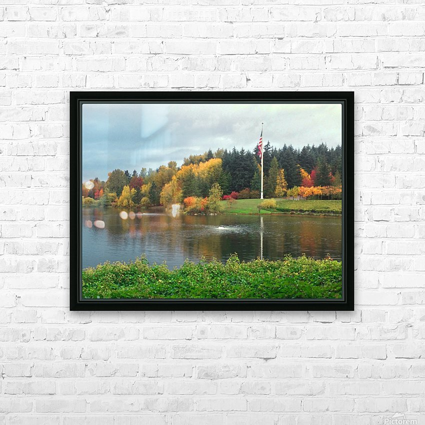 Weyerhaeuser HQ last View HD Sublimation Metal print with Decorating Float Frame (BOX)