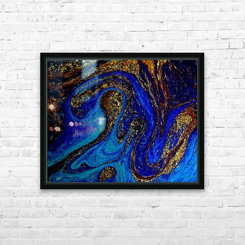Bubbles Reimagined 92 HD Sublimation Metal print with Decorating Float Frame (BOX)
