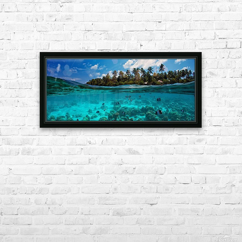 half HD Sublimation Metal print with Decorating Float Frame (BOX)