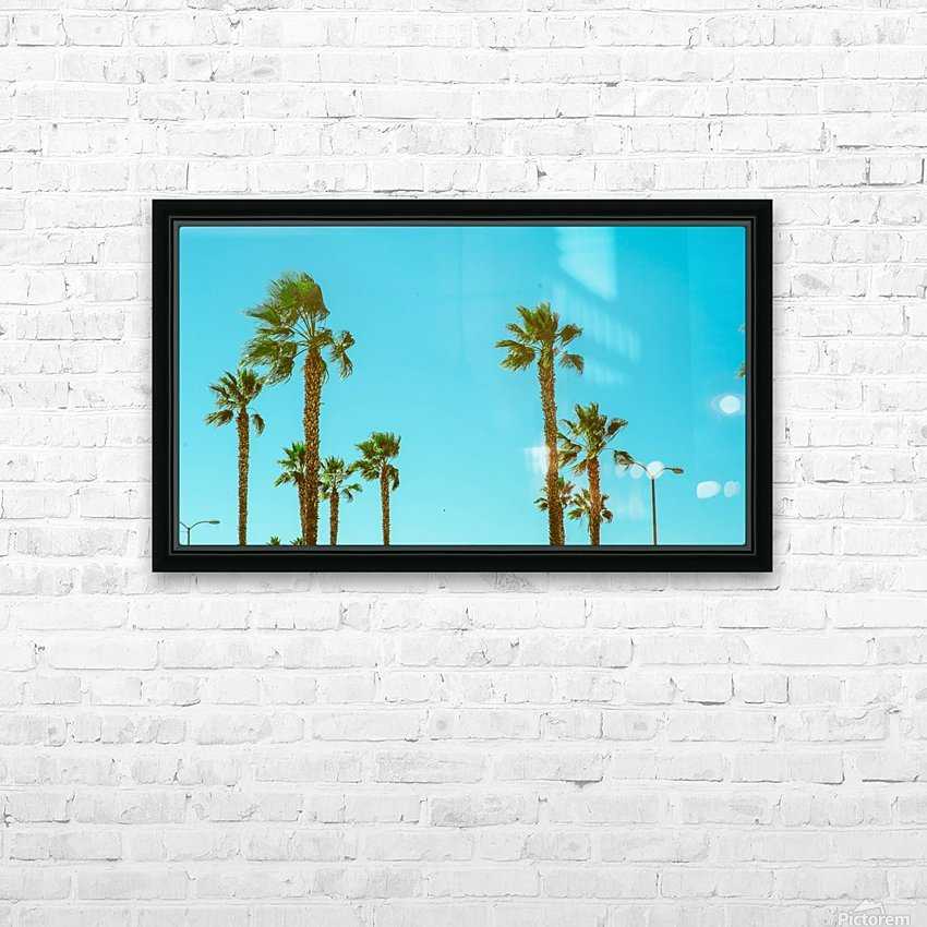 Hollywood Vibes HD Sublimation Metal print with Decorating Float Frame (BOX)