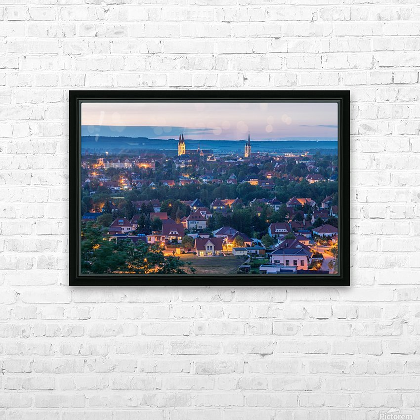 Halberstadt HD Sublimation Metal print with Decorating Float Frame (BOX)