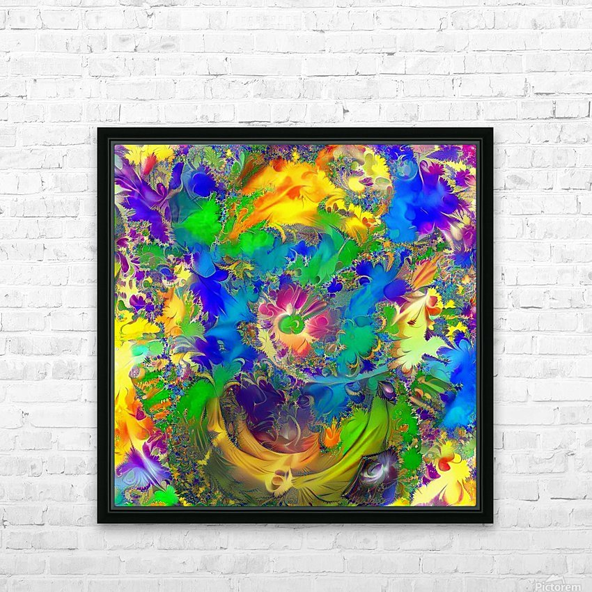 Summer Colors HD Sublimation Metal print with Decorating Float Frame (BOX)