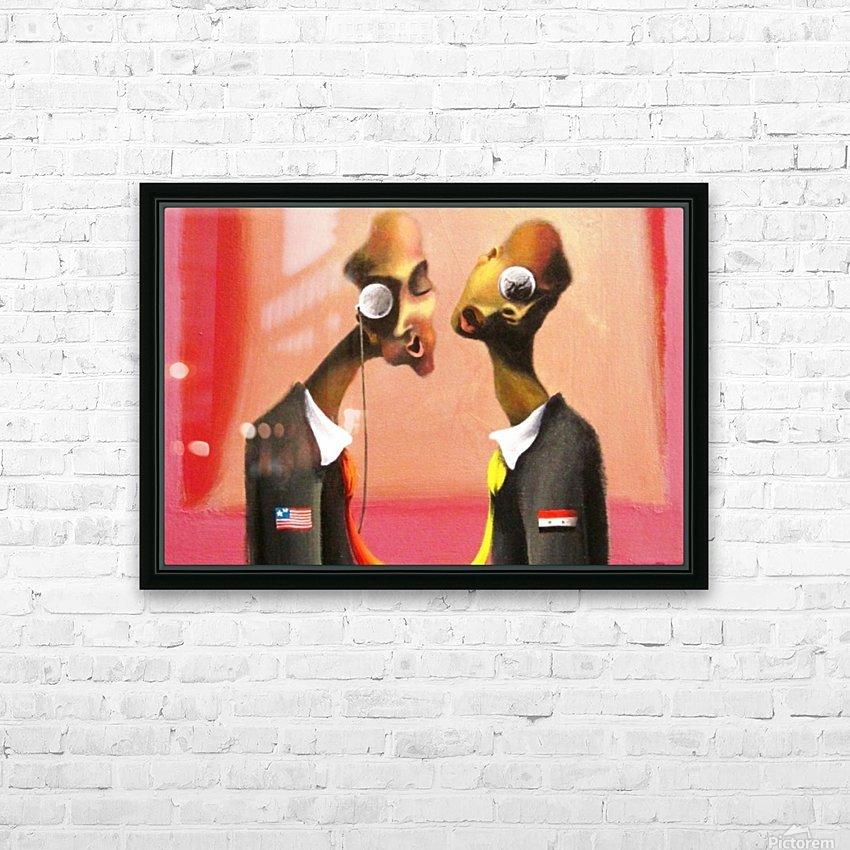 bonifance222 HD Sublimation Metal print with Decorating Float Frame (BOX)