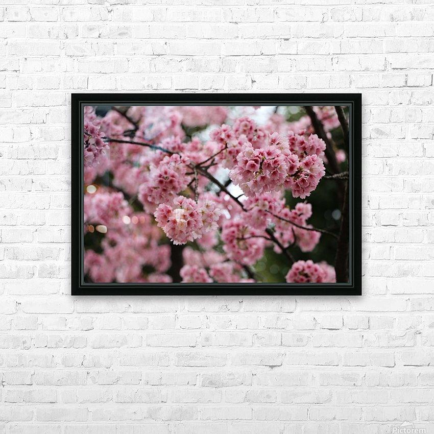 Sakura  HD Sublimation Metal print with Decorating Float Frame (BOX)