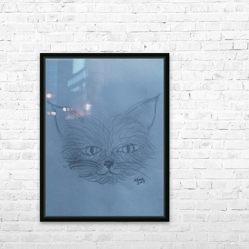 His Name is Mouse HD Sublimation Metal print with Decorating Float Frame (BOX)