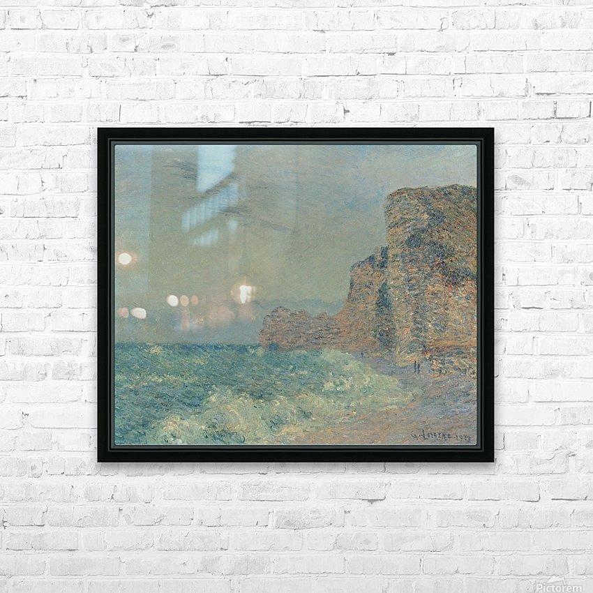 Porte d'Amont, Etretat HD Sublimation Metal print with Decorating Float Frame (BOX)