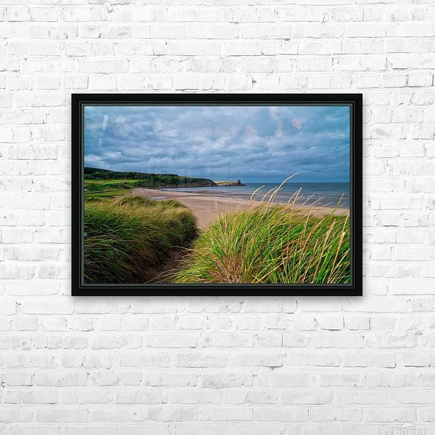 Sand and Grass HD Sublimation Metal print with Decorating Float Frame (BOX)