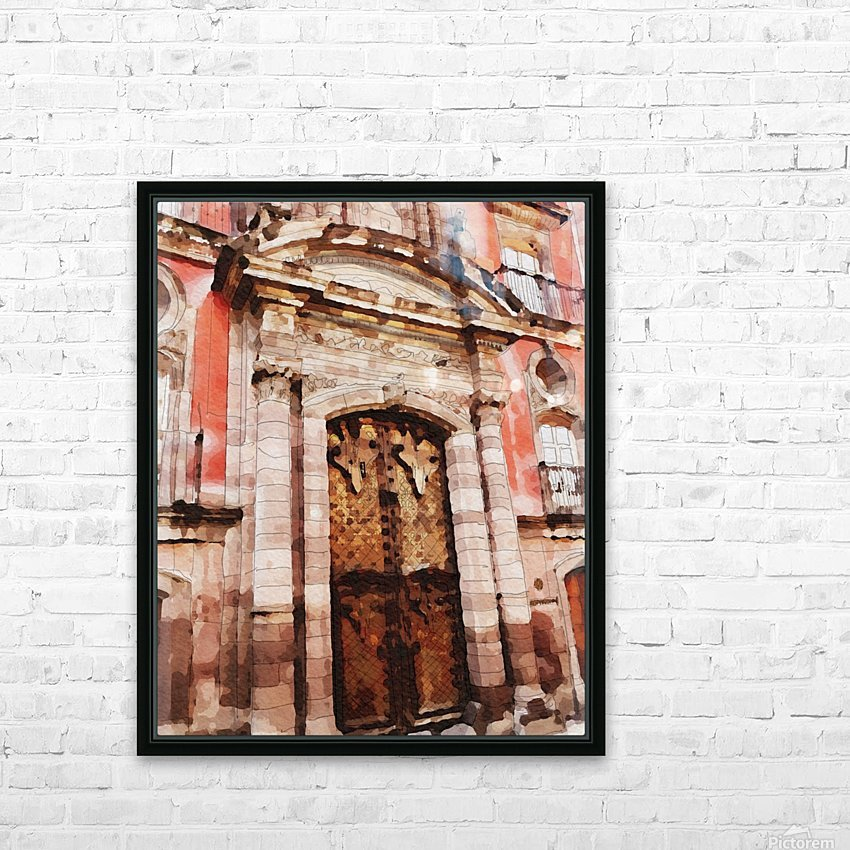 México La Casa del Mayorazgo San Miguel de Allende HD Sublimation Metal print with Decorating Float Frame (BOX)