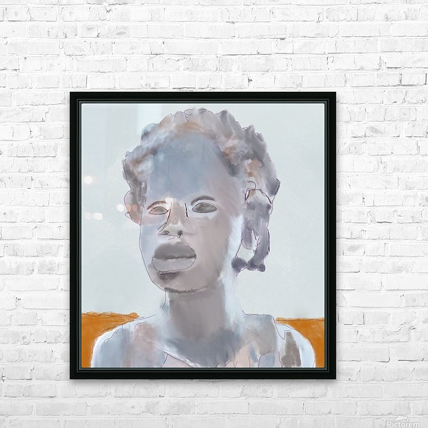 Whitney Plantation Slave Girl 2 HD Sublimation Metal print with Decorating Float Frame (BOX)