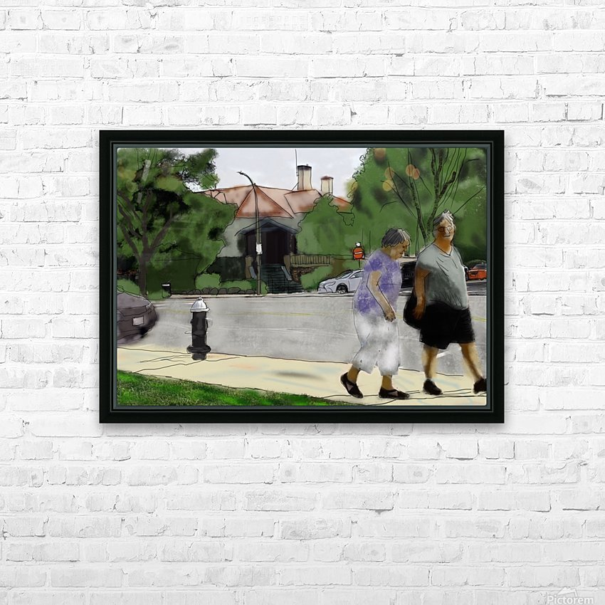 Lexington Louise and Friend HD Sublimation Metal print with Decorating Float Frame (BOX)