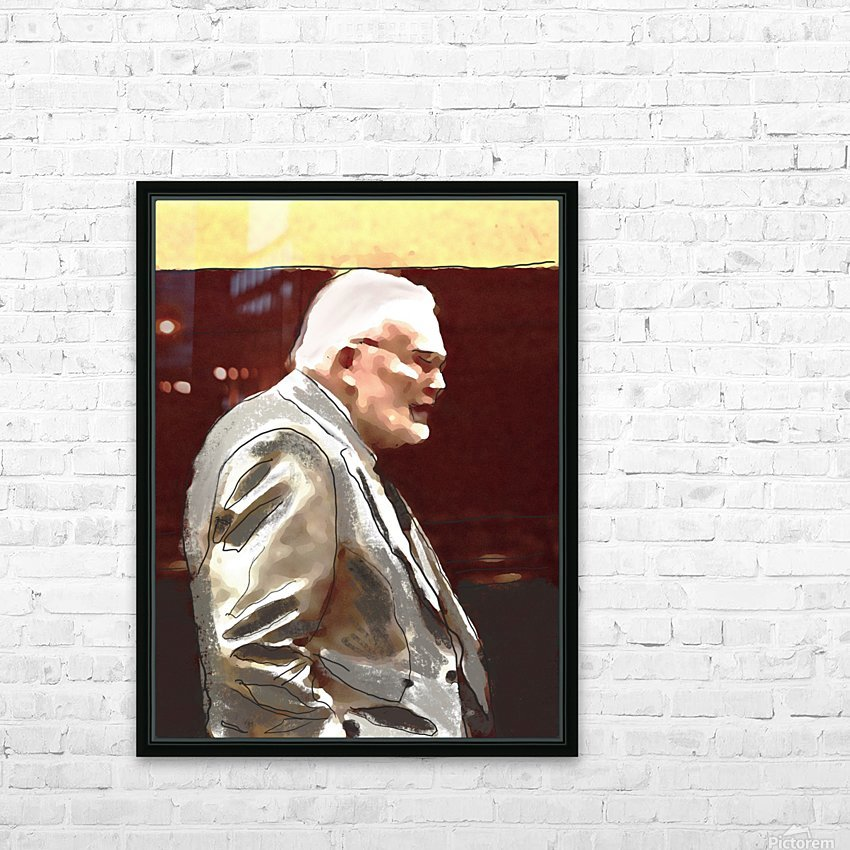 Town Meeting Tom HD Sublimation Metal print with Decorating Float Frame (BOX)