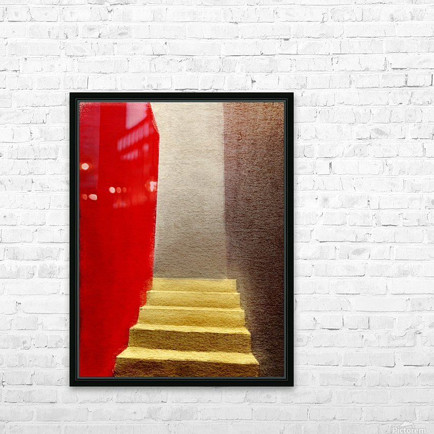 Mexico Oaxaca Stairway HD Sublimation Metal print with Decorating Float Frame (BOX)