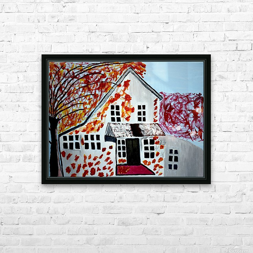 Autumn Day. Cindy A HD Sublimation Metal print with Decorating Float Frame (BOX)
