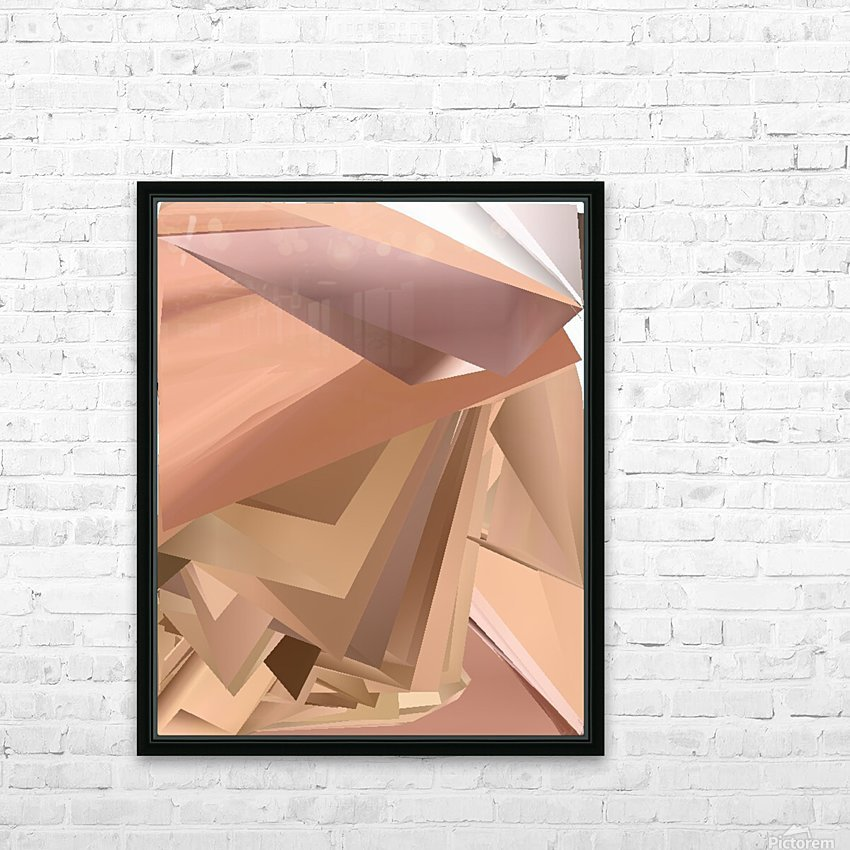 Art two HD Sublimation Metal print with Decorating Float Frame (BOX)