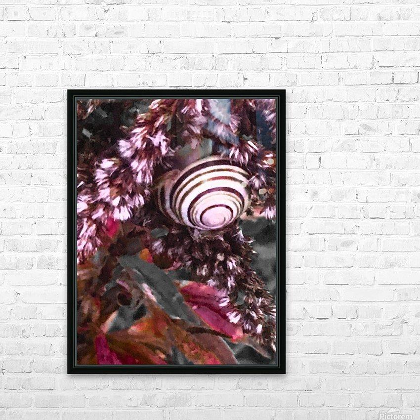 Spiraling in the vortex  HD sublimation métal imprimé avec décoration flotteur cadre (boîte)