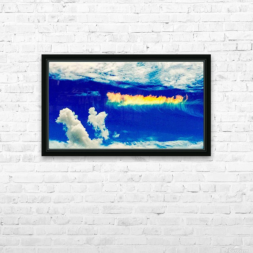 Follow the rainbow  HD Sublimation Metal print with Decorating Float Frame (BOX)
