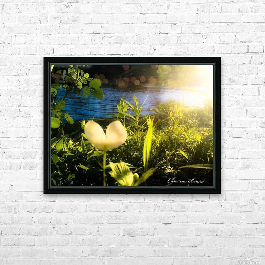 Sense2 HD sublimation métal imprimé avec décoration flotteur cadre (boîte)