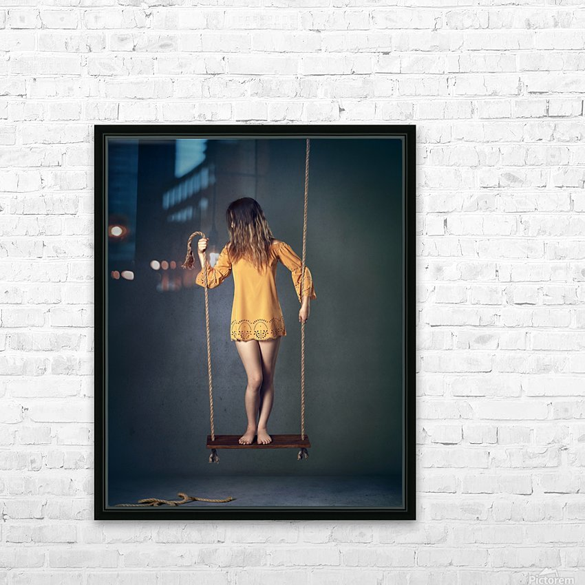 Hold on Tight HD Sublimation Metal print with Decorating Float Frame (BOX)