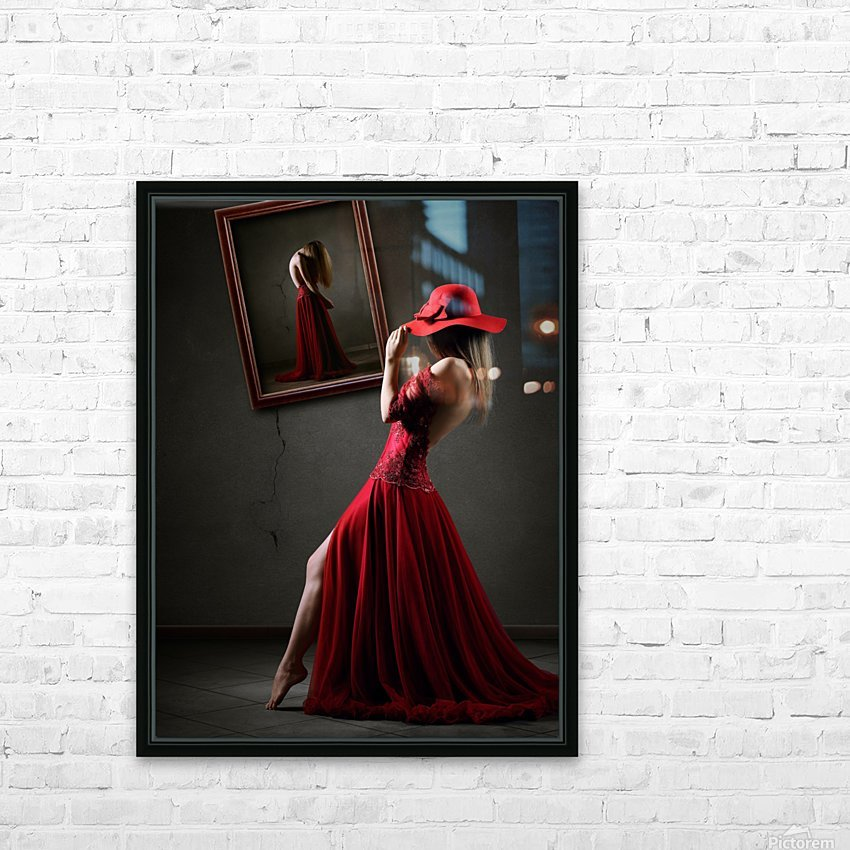 Pretense HD Sublimation Metal print with Decorating Float Frame (BOX)