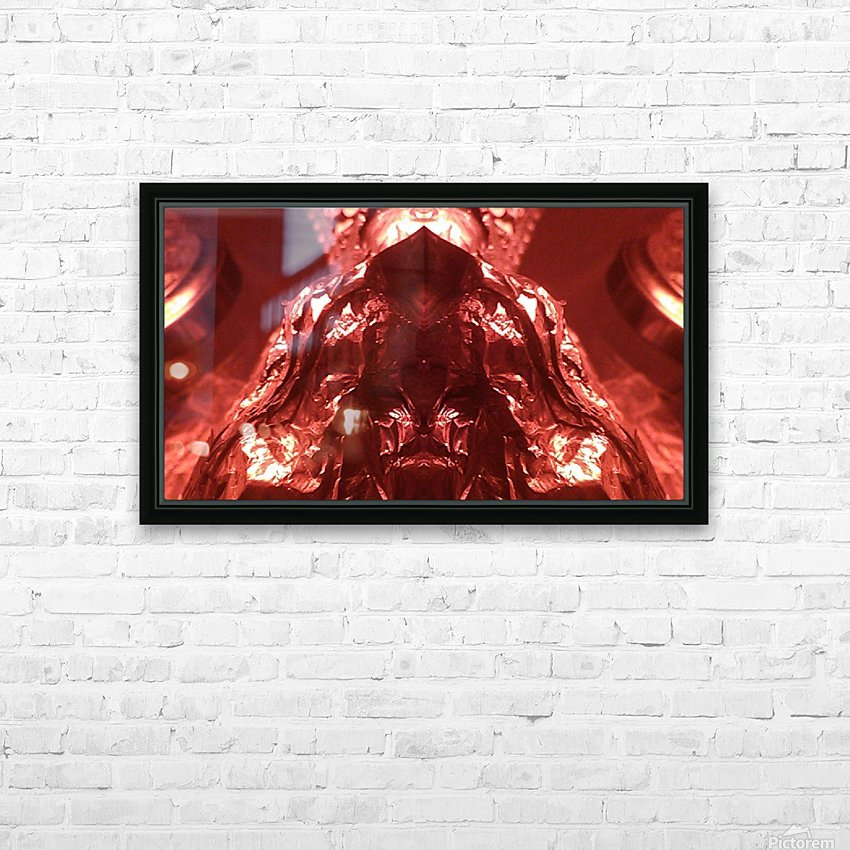 1539415673034 HD Sublimation Metal print with Decorating Float Frame (BOX)