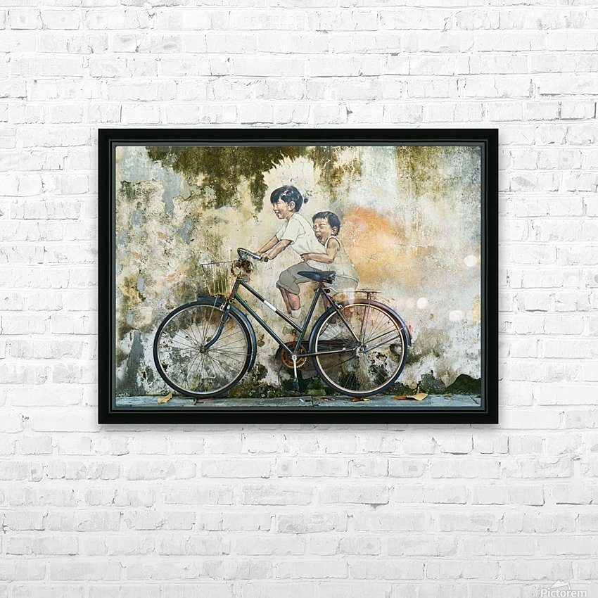 My Little Brother HD Sublimation Metal print with Decorating Float Frame (BOX)